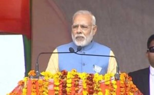 narendra modi at aligarh rally said that why everyone is speaking against me