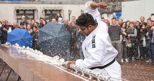 mohammad rashid मोहम्मद राशिद made world record
