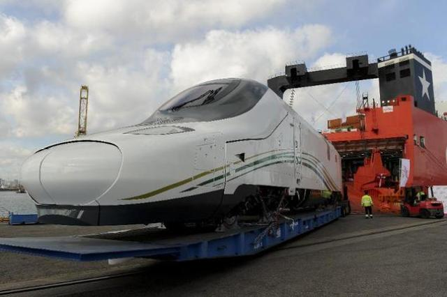 saudi arabia launch high speed train ट्रेन
