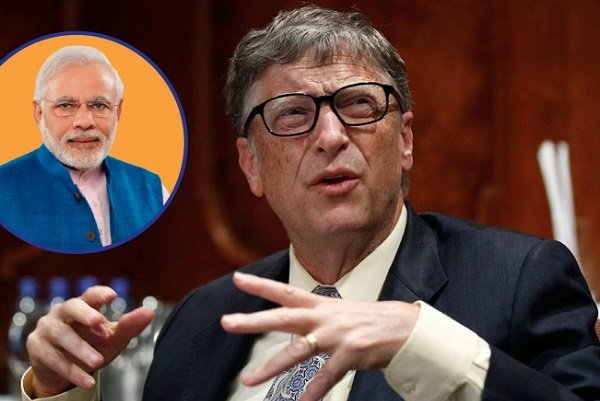 bill gates बिल गेट्स about modi government