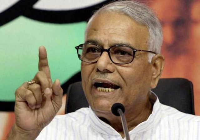 Image result for yashwant sinha