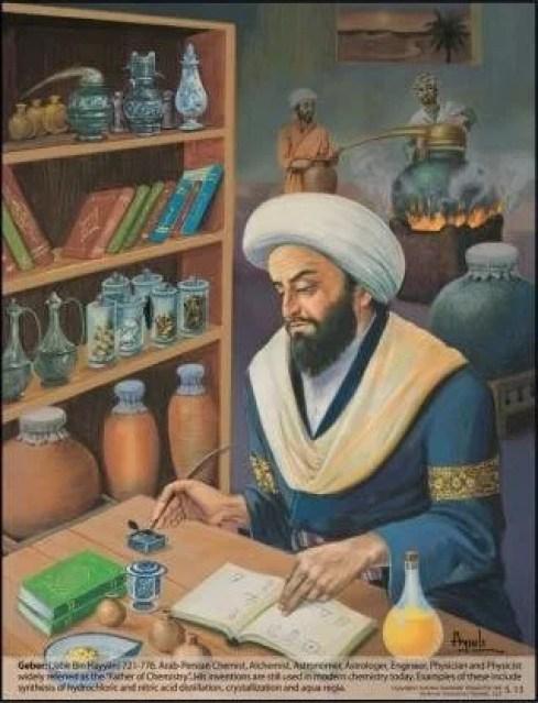 Image result for jabir ibn hayyan