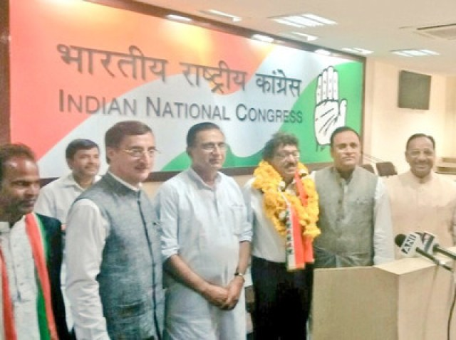 Image result for abhay mishra joins congress