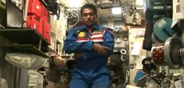 Image result for muslim praying in space