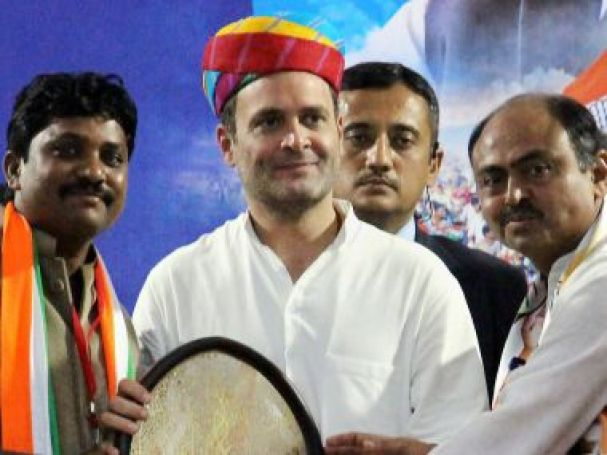 Image result for congress wins in rajasthan rahul gandhi