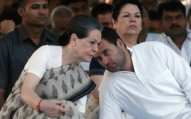 Image result for sonia gandhi and rahul gandhi