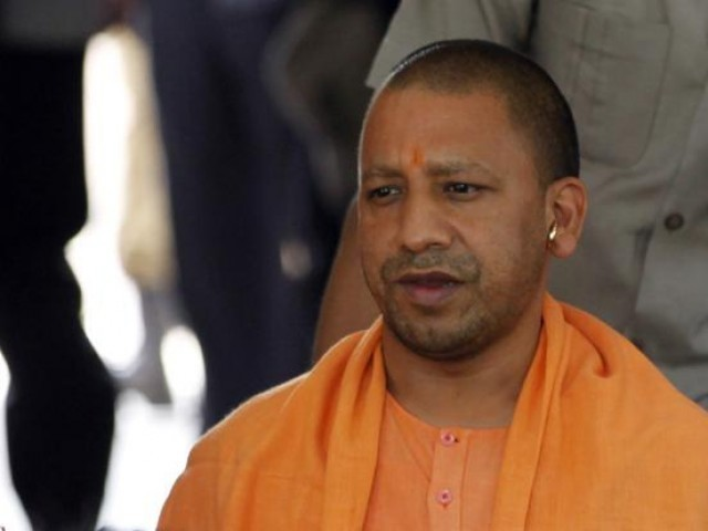 Image result for yogi adityanath sad