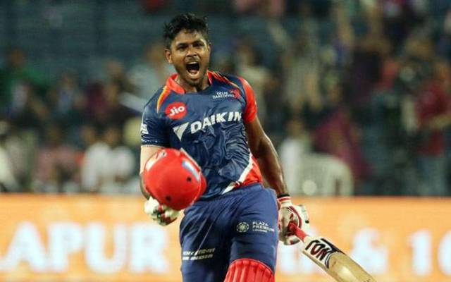 sanju samson संजू सैमसन new ipl record