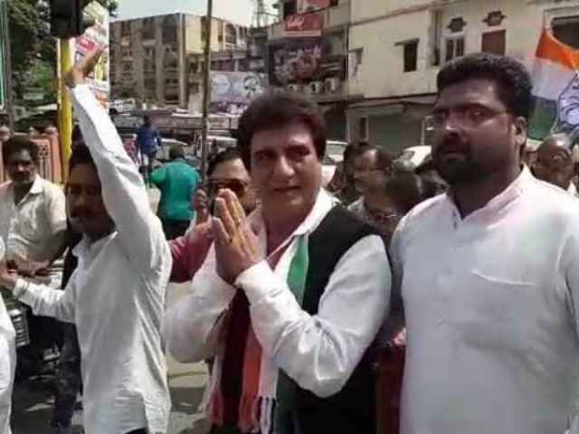 raj babbar राज बब्बर targets narendra modi