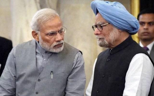 manmohan singh target narendra modi