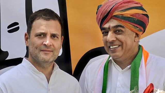 Image result for rahul gandhi happy rajasthan