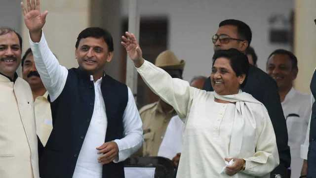 new coalition between parties in uttar pradesh सपा