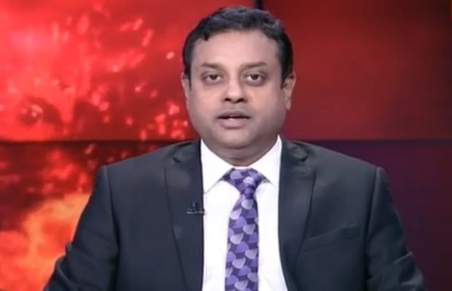 people target sambit patra संबित पात्रा when he become anchor