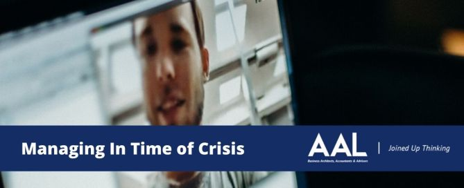 Managing In Time of Crisis