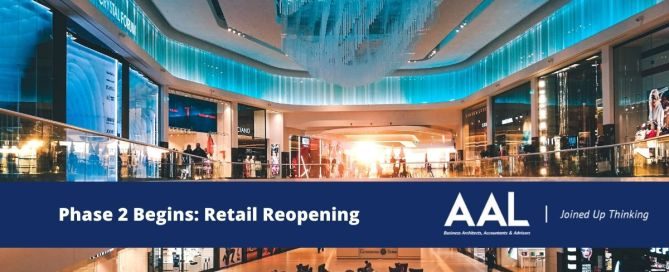 Phase 2 Begins Retail Reopening Covid 19 AAL Accountable Advisors