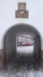 Aalborghus Slot indkørsel