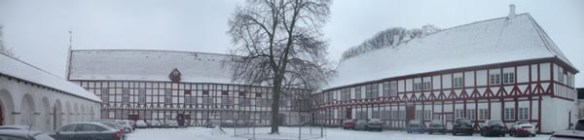 Aalborghus Slot - gården