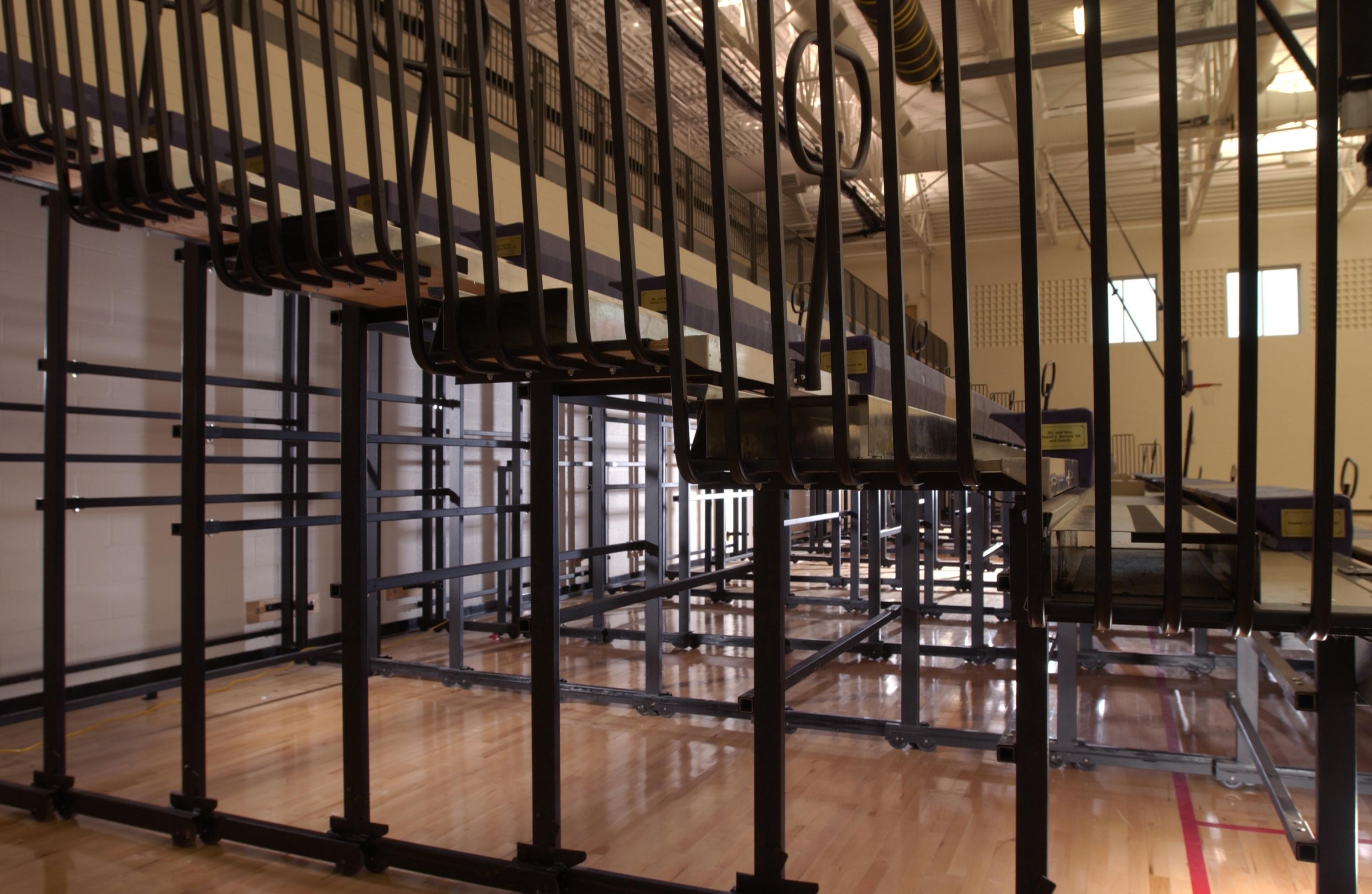 Gymnasium Bleachers Indoor Bleachers Aalco Manufacturing