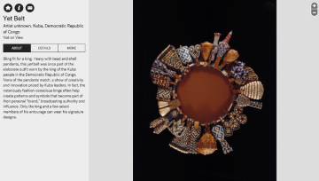 Image of a Yet Belt in the museums online collections database.