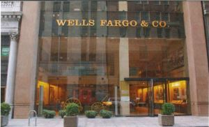 Image of the exterior of Wells Fargo in New York.