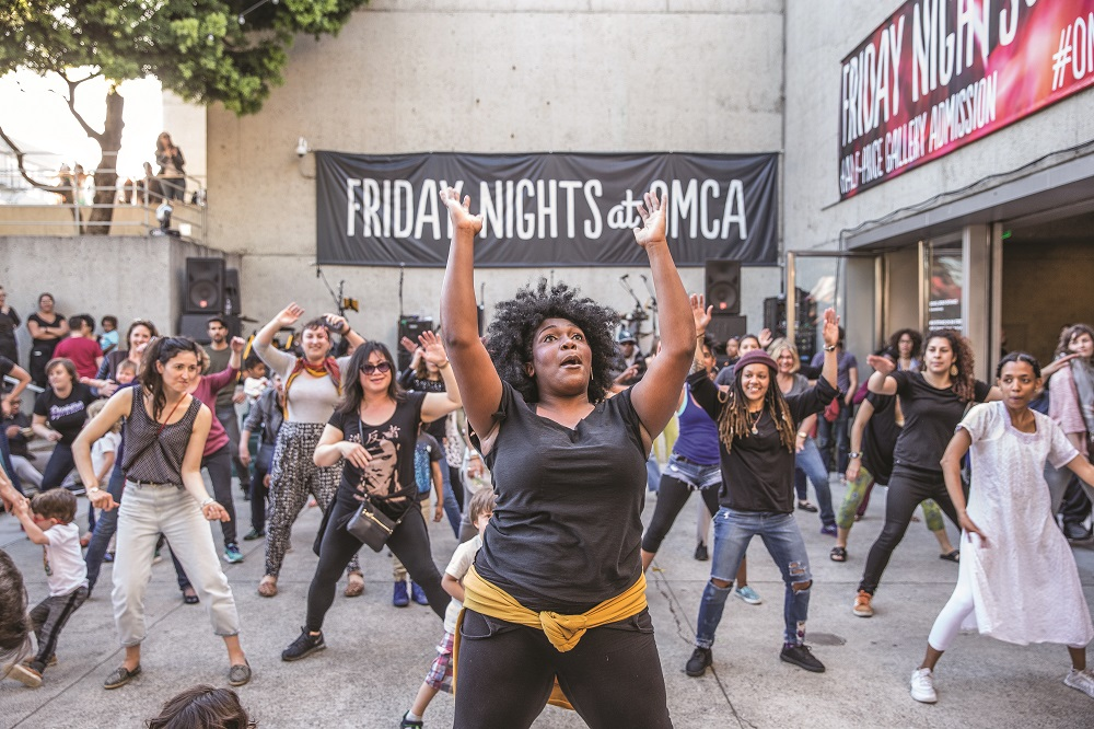 Thousands come out to the museum's weekly Friday Nights at OMCA program to dance, celebrate, and be in community with each other.