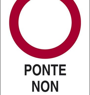 PONTE NON PRATICABILE