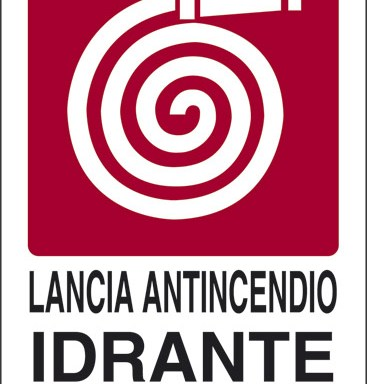 LANCIA ANTINCENDIO IDRANTE N°
