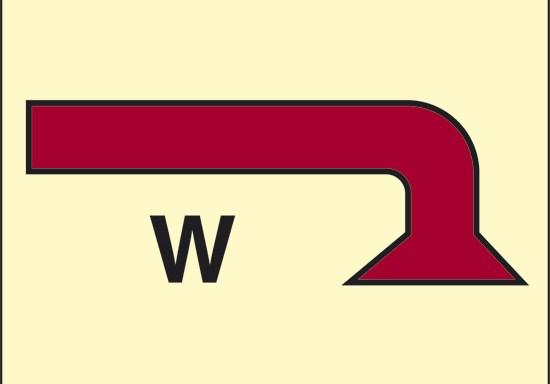 W (erogatore di acqua nebulizzata) luminescente