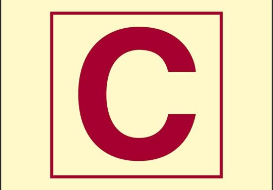 C (stazione di controllo) luminescente