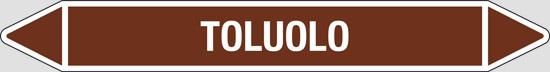 TOLUOLO (oli minerali, oli vegetali e oli animali, liquidi combustibili e/o infiammabili)