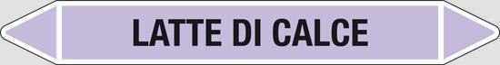 LATTE DI CALCE (alcali o basici)