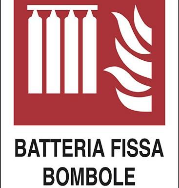 BATTERIA FISSA BOMBOLE ANTINCENDIO