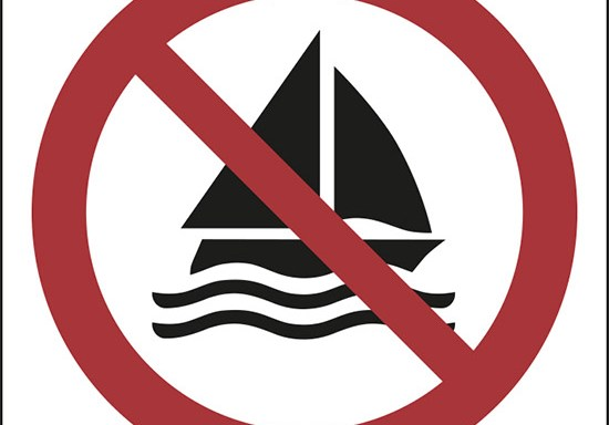 (non navigare – no sailing)