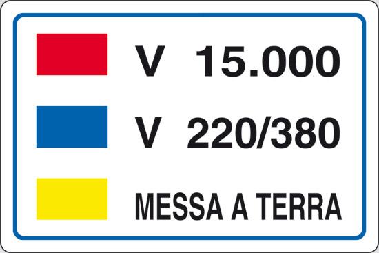 V 15.000 V 220/380 MESSA A TERRA
