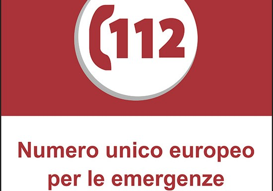 112 Numero unico europeo per le emergenze