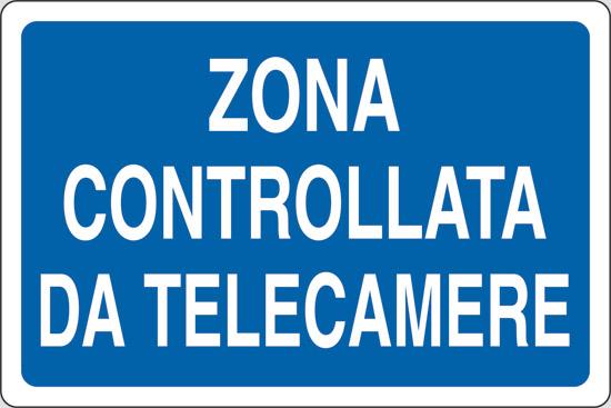ZONA CONTROLLATA DA TELECAMERE