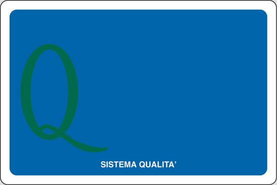 """(simbolo """"sistema qualita'"""" con spazio scrivibile)"""