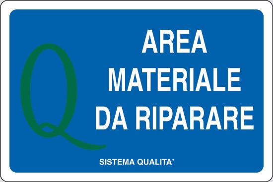 AREA MATERIALE DA RIPARARE