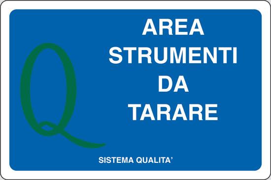 AREA STRUMENTI DA TARARE