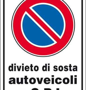 divieto di sosta autoveicoli a g.p.l.
