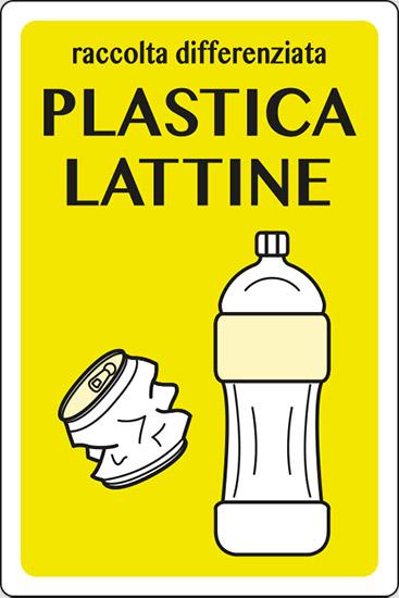 raccolta differenziata PLASTICA LATTINE