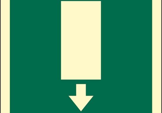 (uscita in basso) luminescente