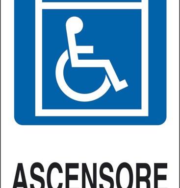 ASCENSORE (disabili)