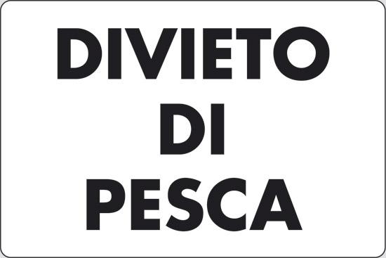 DIVIETO DI PESCA