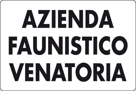 AZIENDA FAUNISTICO VENATORIA