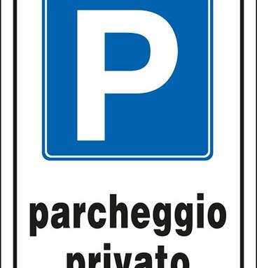 P parcheggio privato