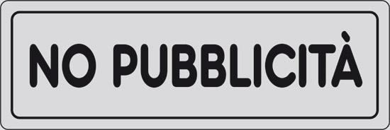 NO PUBBLICITA'