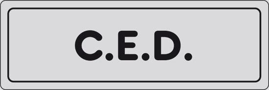 C.E.D.