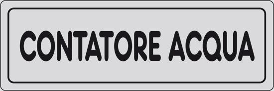 CONTATORE ACQUA