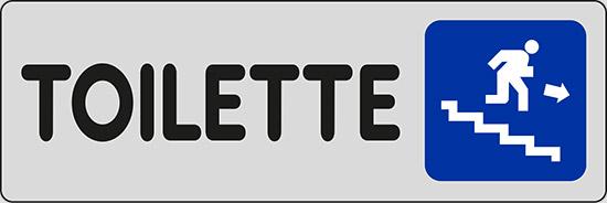 TOILETTE (in basso a destra)